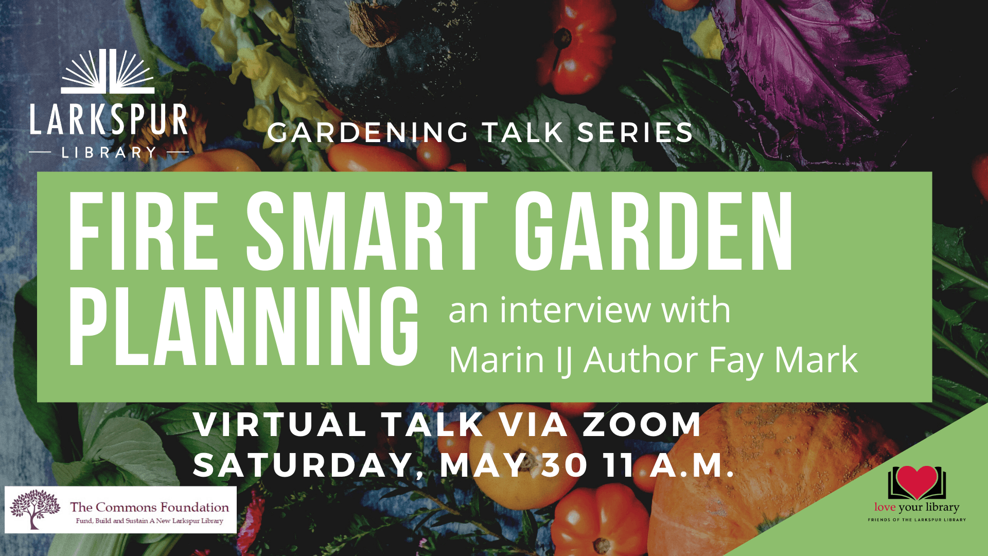 Fire Smart Garden Planning Interview with Marin IJ Author Fay Mark