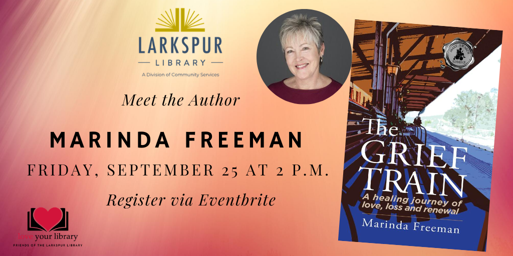 Meet the Author Marinda Freeman Friday September 25 at 2 PM