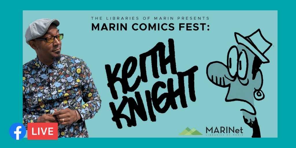 Keith Knight Join us Live on the Library's Facebook Page!